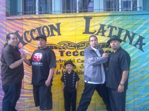 Alex Nieto at Accion Latina