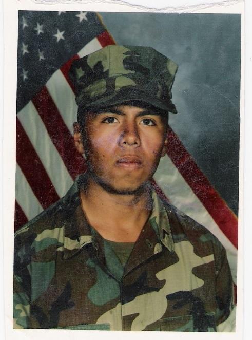 Ben in the Marine Corps