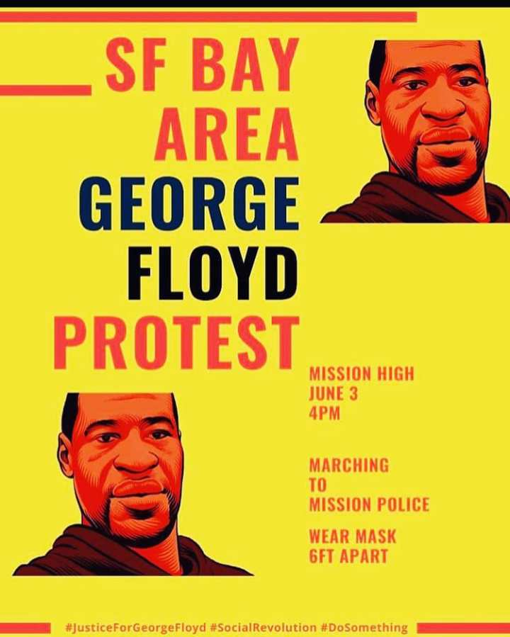 George Floyd Protest March