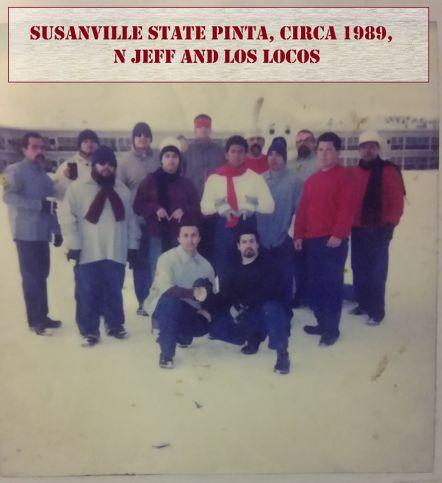Con Snowman in La Pinta 1988