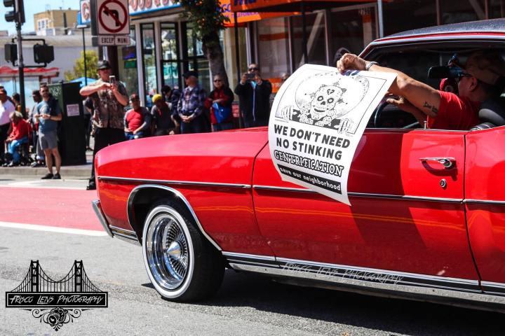 We Dont Need No Stinking Gentrification Cesar Chavez Parade 2019